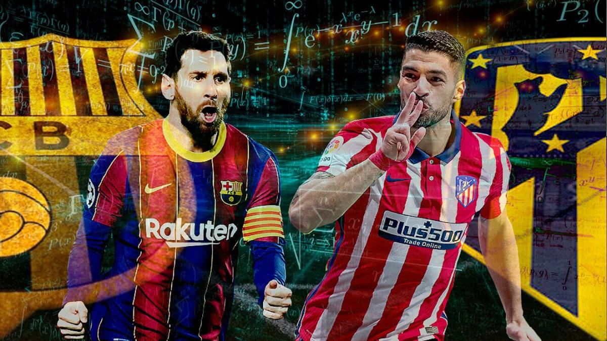 Kết quả trận đấu giữa Barca và Atletico Madrid sẽ tác động lớn tới cuộc đua vô địch La Liga mùa này. (Ảnh: Marca)