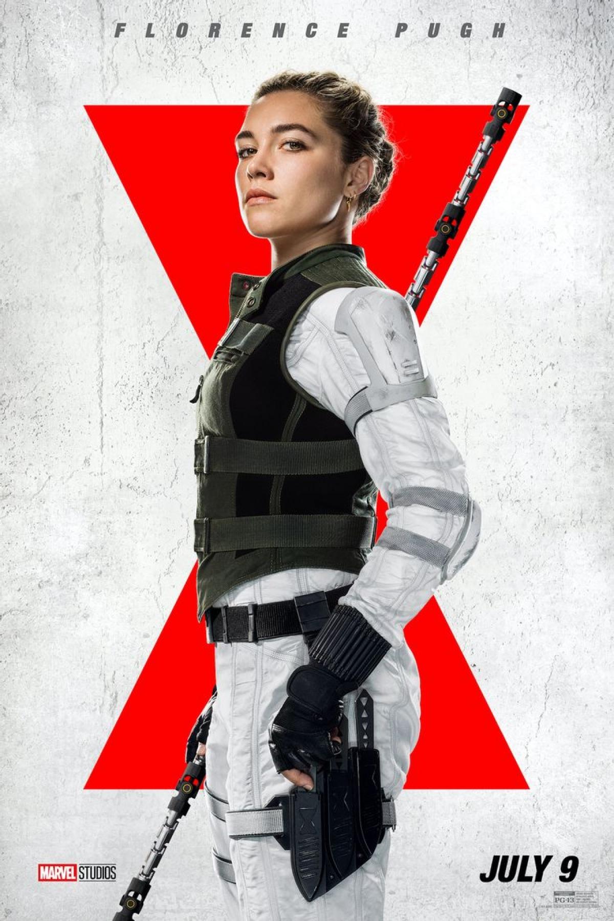 Pugh sẽ vào vai Yelena, nhân vật emgái của Black Widow.