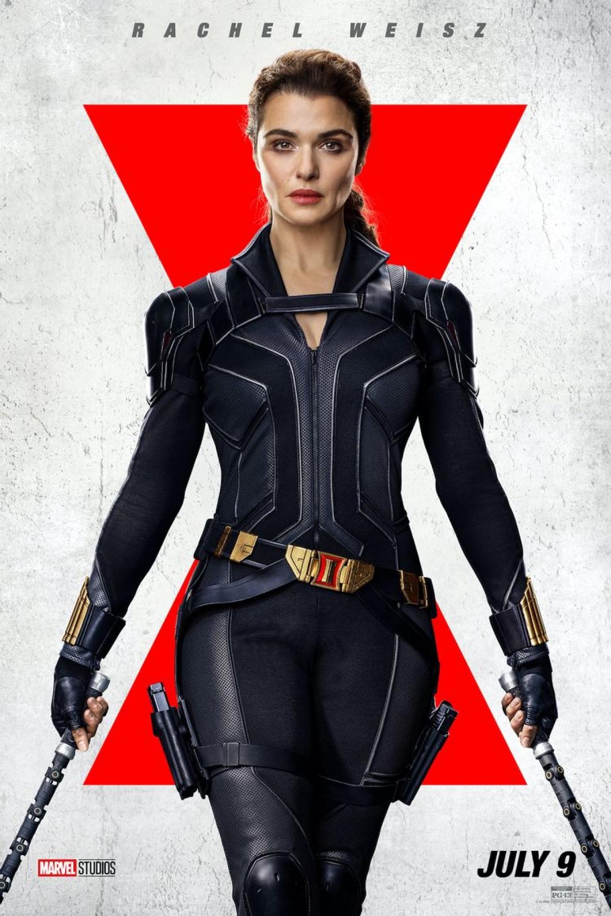 Rachel Weisz sẽ vào vai mẹ của Black Widow.