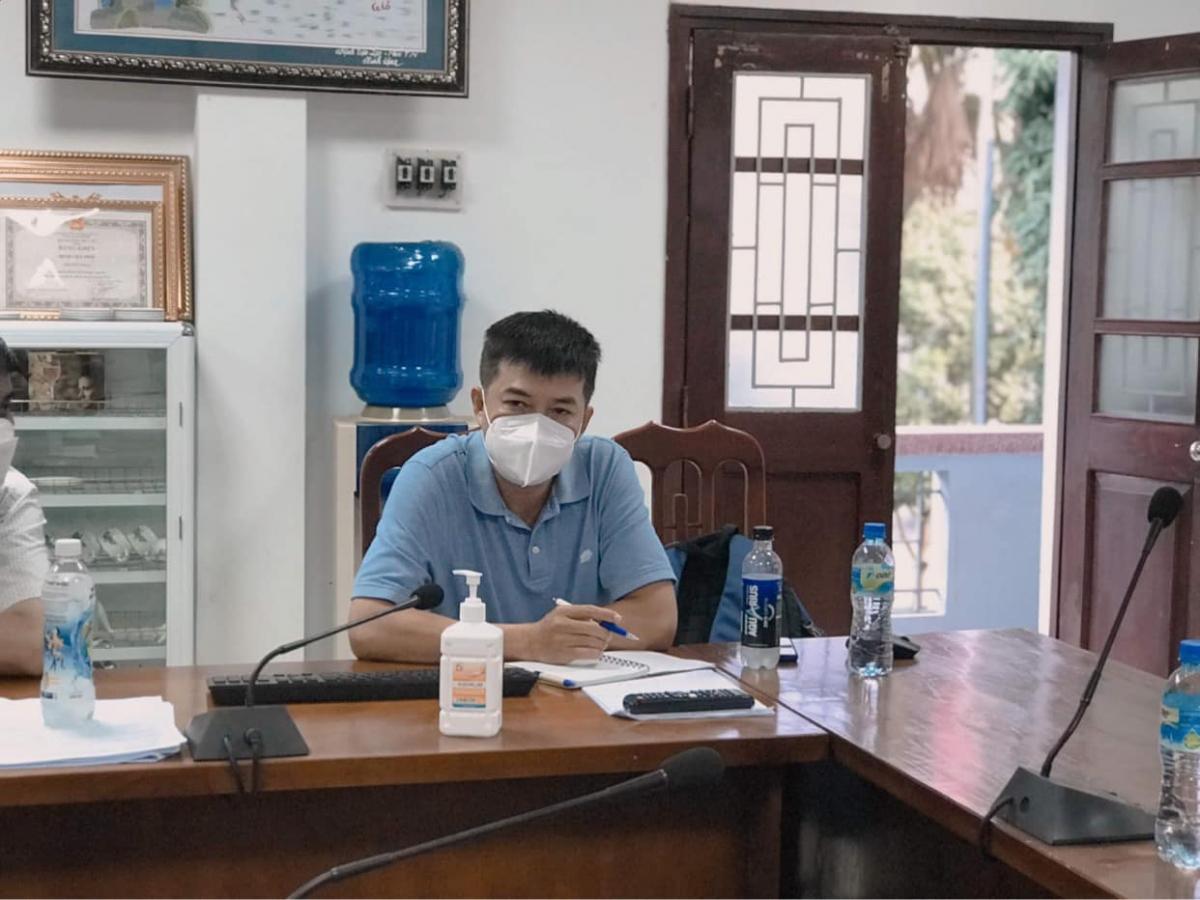 BS CKII Trần Thanh Linh – Phó khoa Hồi sức cấp cứu, Bệnh viện Chợ Rẫy. (Ảnh: Ngọc Mai)