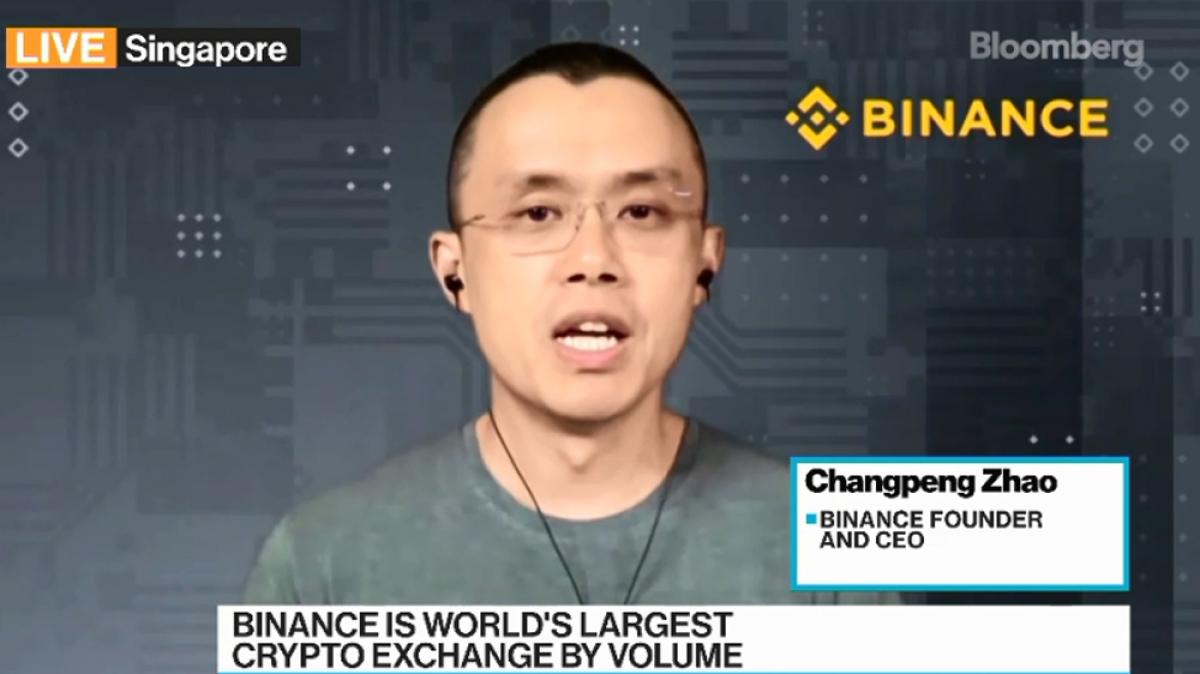 ÔngChangpeng Zhao - nhà sáng lập kiêm CEO của Binance
