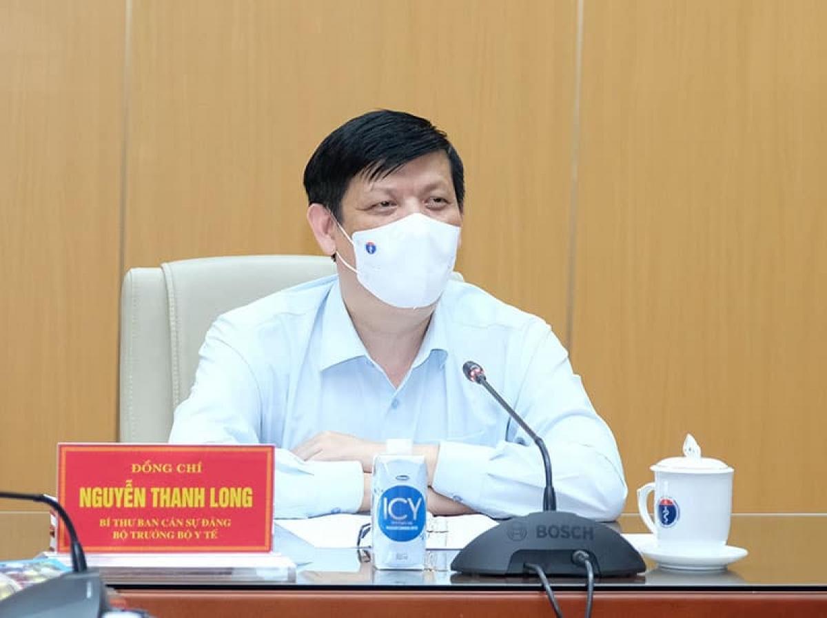 Bộ trưởng Nguyễn Thanh Long.
