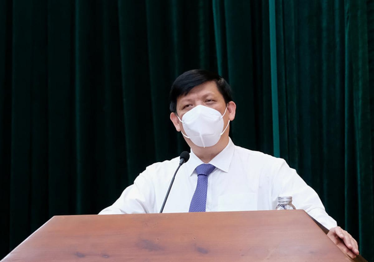 GS.TS Nguyễn Thanh Long, Bộ trưởng Bộ Y tế. (Ảnh: Trần Minh)