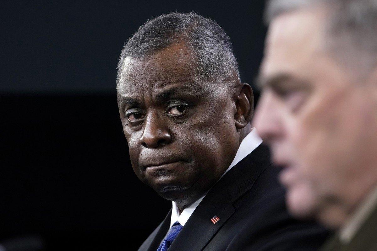 Ông Austin đáng ra phải kết nối với Bộ trưởng Ngụy Phượng Hòa chứ không phải Phó Chủ tịch ủy ban quân vụ trung ương Hứa Kỳ Lượng. Ảnh: AP