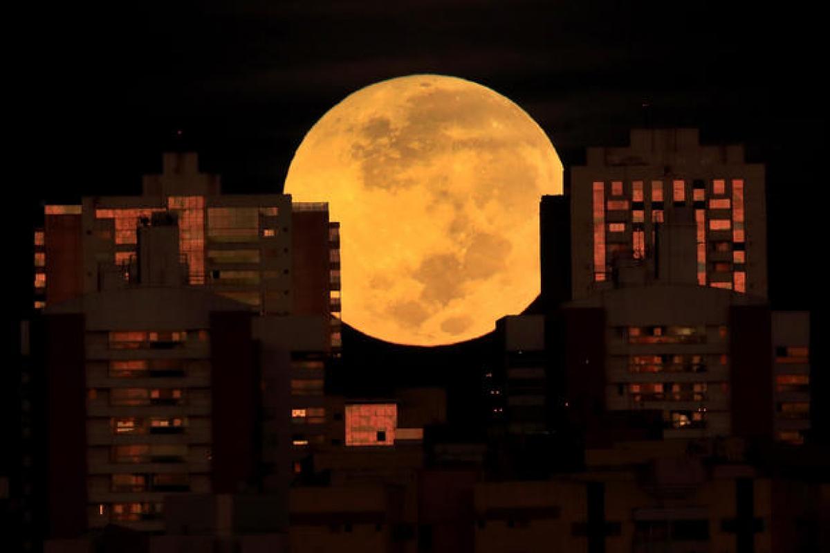 Ảnh: Ngắm nhìn siêu trăng máu hội ngộ nguyệt thực toàn ...