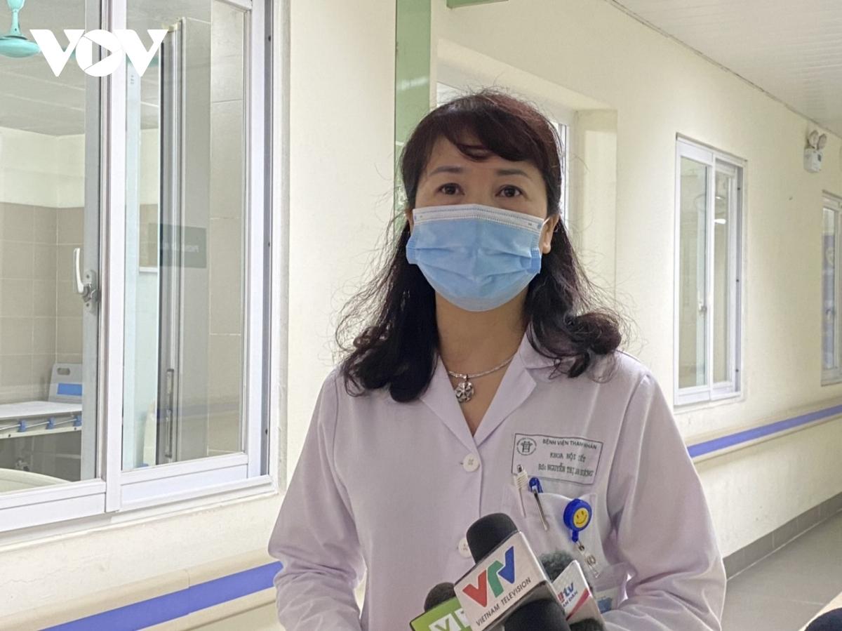BSCKII Nguyễn Thị Lan Hương, Phó Giám đốc Bệnh viện Thanh Nhàn.