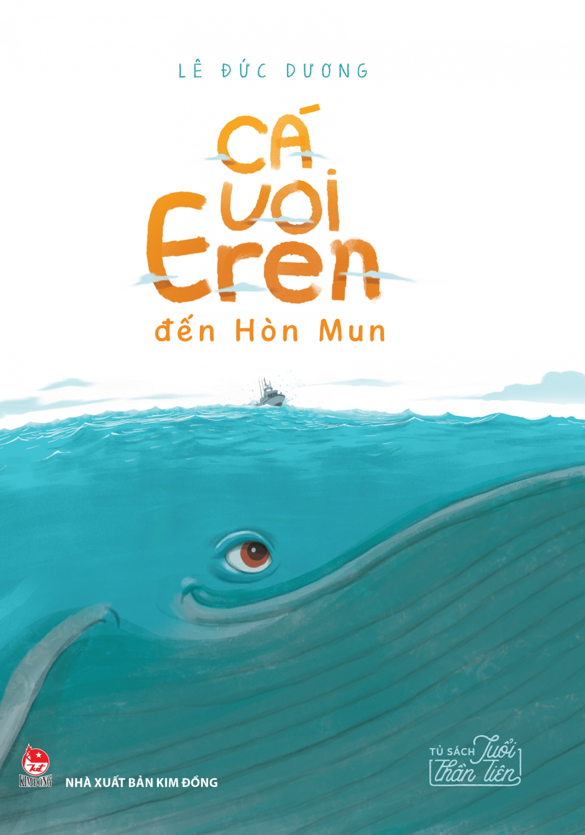 """Truyện dài""""Cá voi Eren đến Hòn Mun""""."""