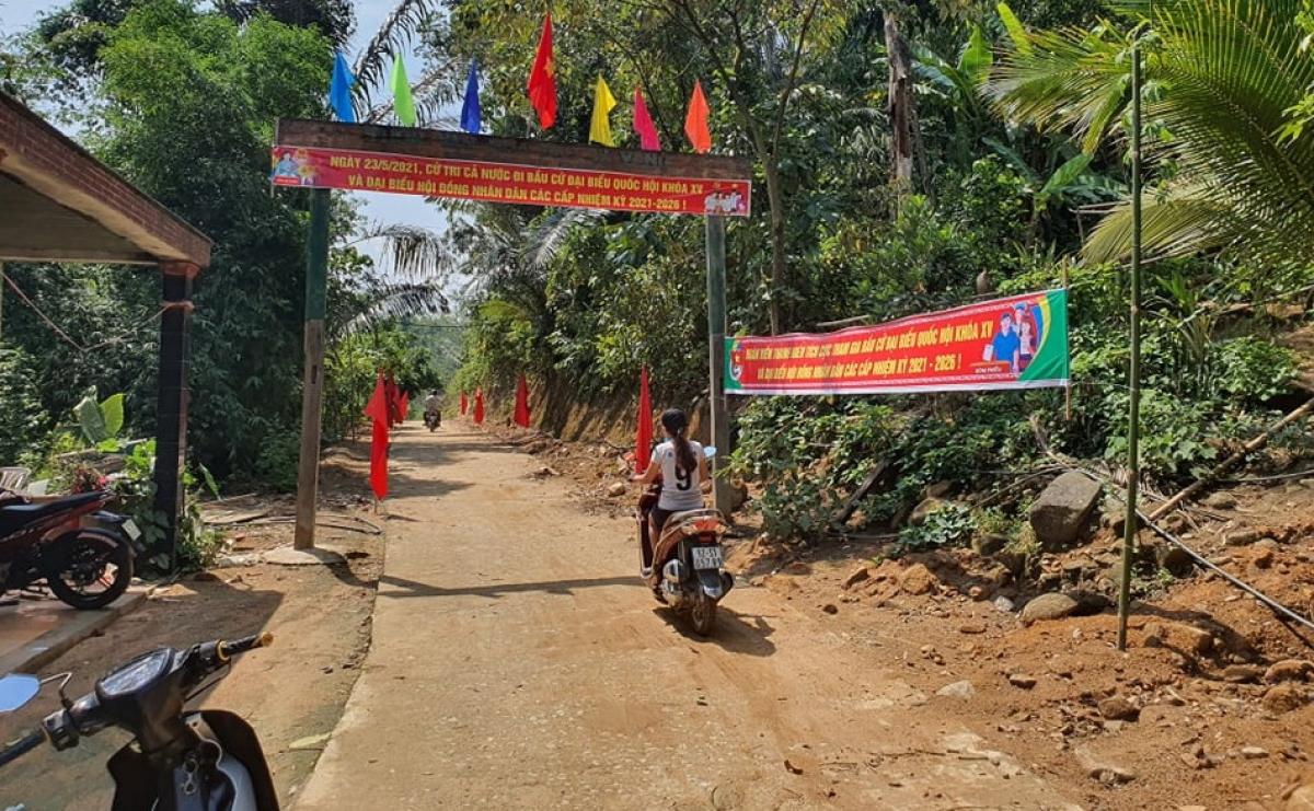 Vùng cao Quảng Nam sẵn sàng cho ngày hội bầu cử.