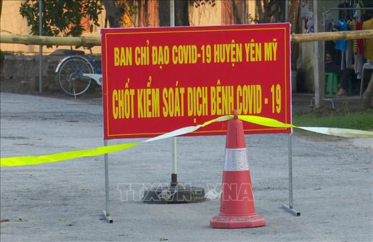 Huyện Yên Mỹ đã phong toả Công ty may Châu Á (ảnh minh họa)