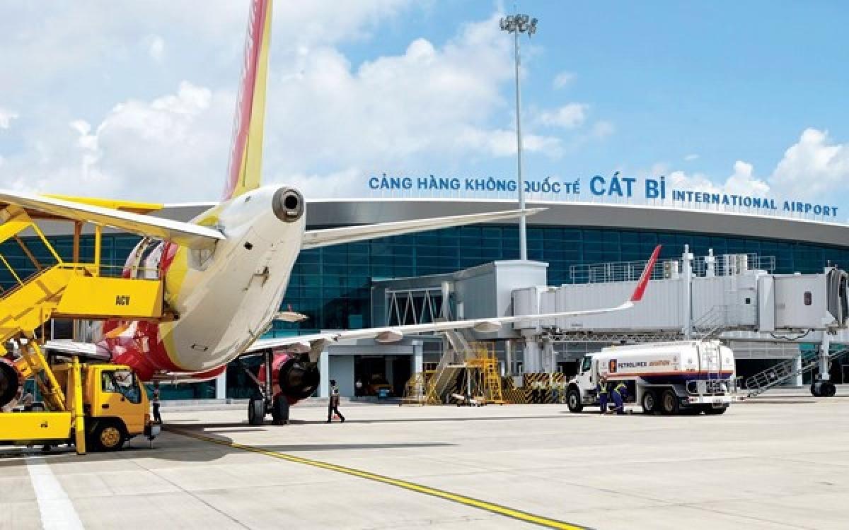 Sân bay Cát Bi, Hải Phòng.