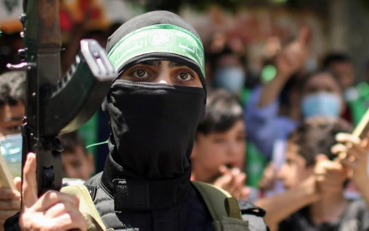 Chiến binh Hồi giáo Palestine. Ảnh: Reuters.