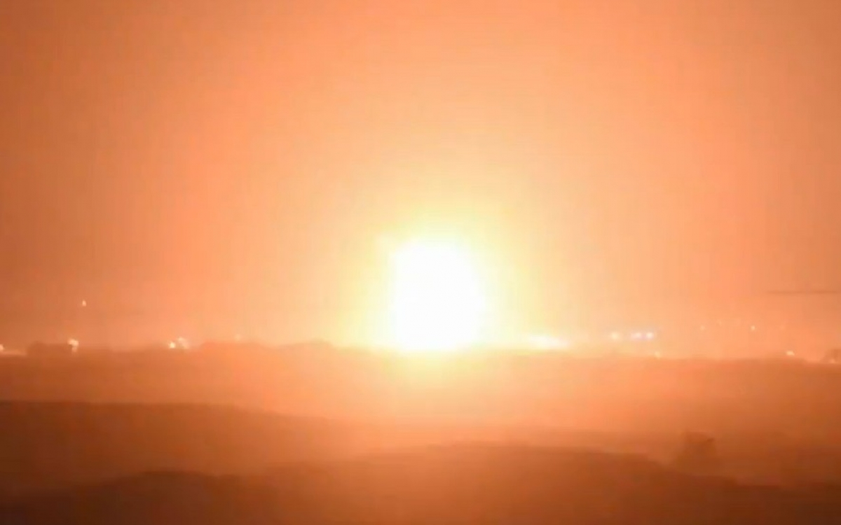 Chiến sự giữa Israel và Hamas. Ảnh: IDF.