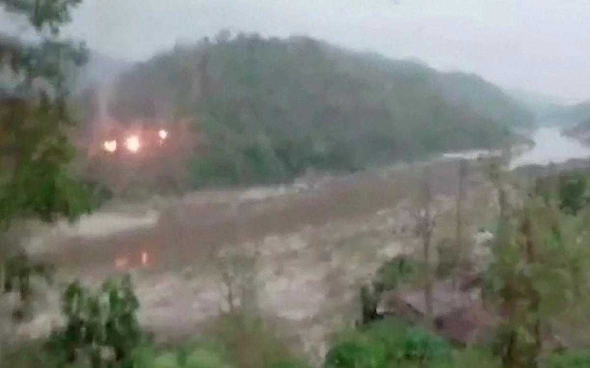 Giao tranh gần biên giới Myanmar-Thái Lan. Ảnh: BBC.