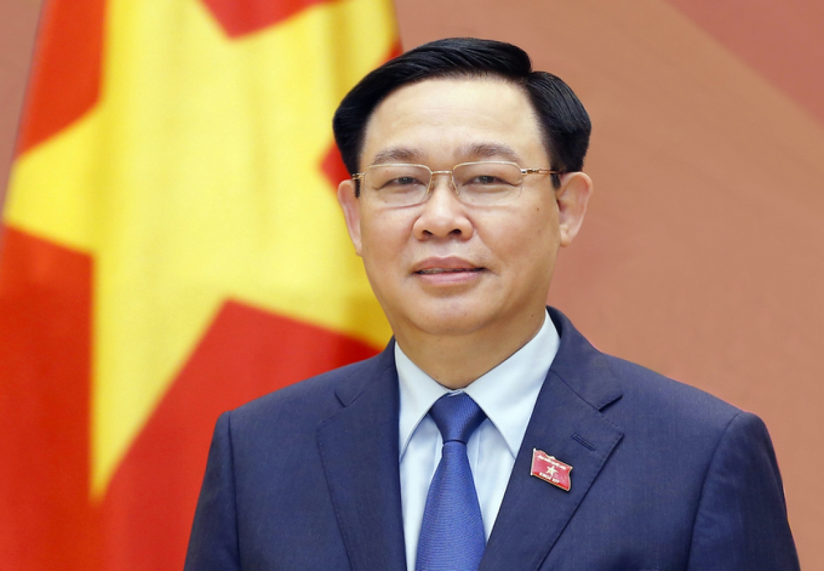 National Assembly (NA) Chairman Vuong Dinh Hue (Photo: NA Press Centre)