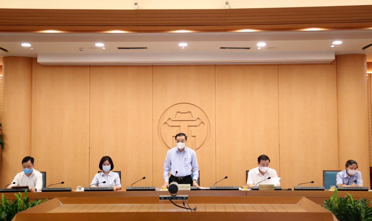 Chủ tịch TP Hà Nội yêu cầu Công an Thành phố vào cuộc xem xét hồ sơ trường hợp giám đốc vi phạm quy định phòng dịch.