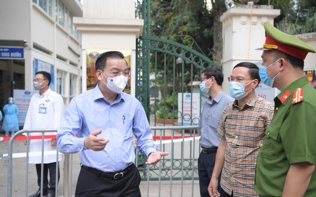 Ông Chu Ngọc Anh yêu cầu chấn chỉnh ngay việc kiểm tra, kiểm soát toàn diện các cơ sở Bệnh viện K.