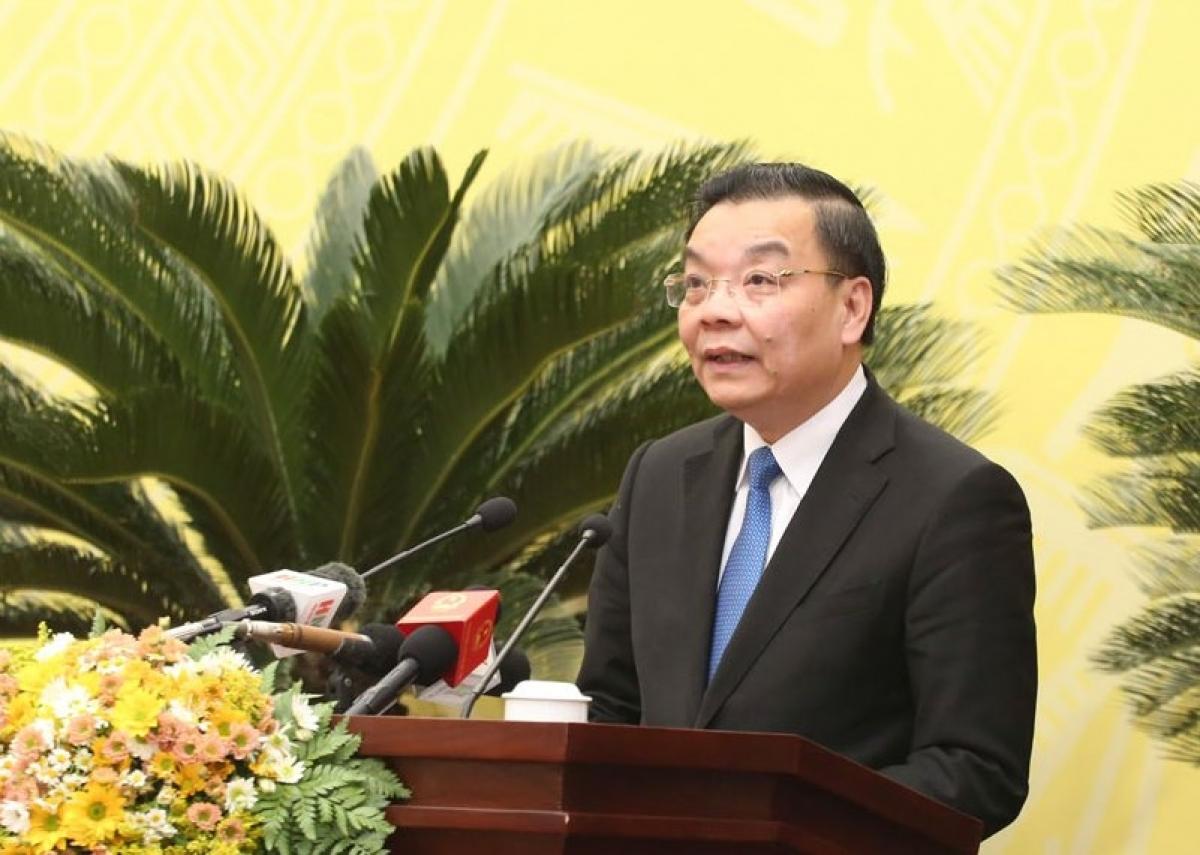 Chủ tịch UBND TP Hà Nội - Chu Ngọc Anh.