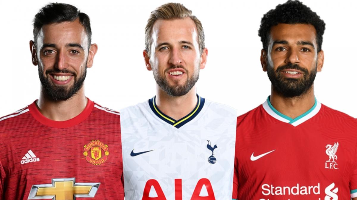 Top 10 cầu thủ đua tranh quyết liệt cho danh hiệu vua phá lưới Ngoại hạng Anh 2020/2021 gồm có: