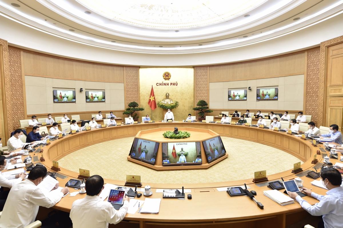 Một phiên họp Chính phủ thường kỳ