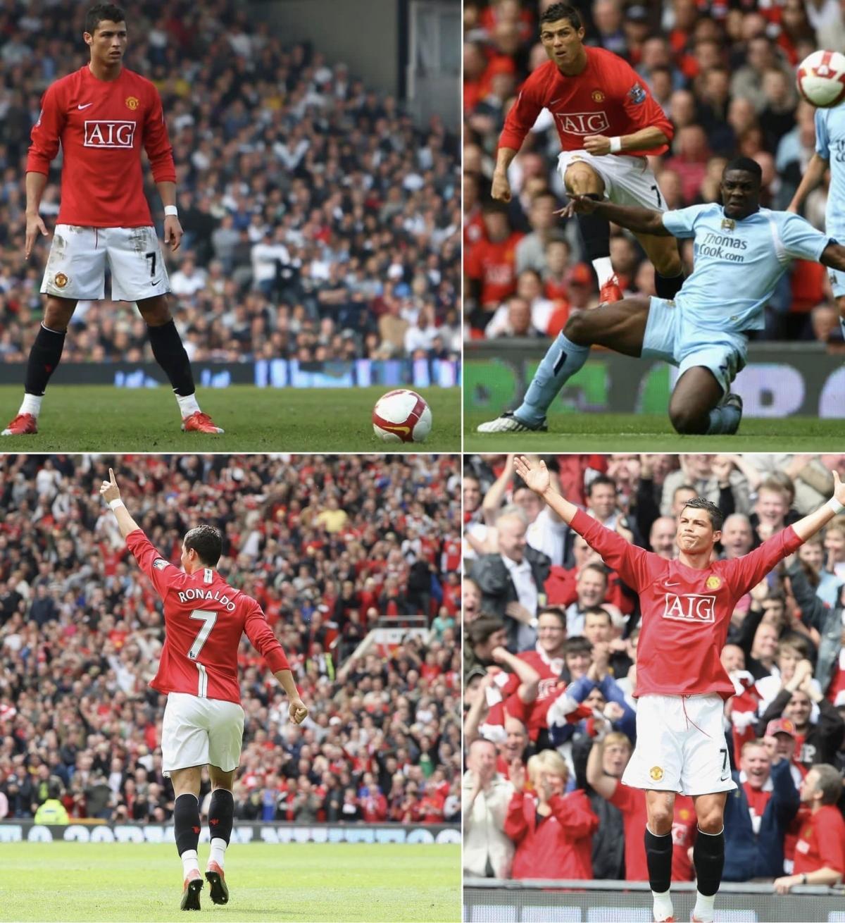 Ngày này 12 năm trước, Ronaldo ghi bàn thắng cuối cùng trong màu áo MU.