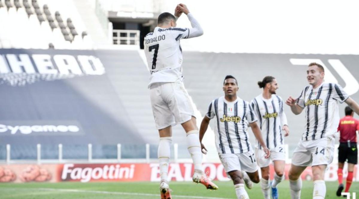 Ronaldo giúp Juventus hạ Inter Milan, nuôi hy vọng dự Champions League mùa tới. (Ảnh: Juventus).