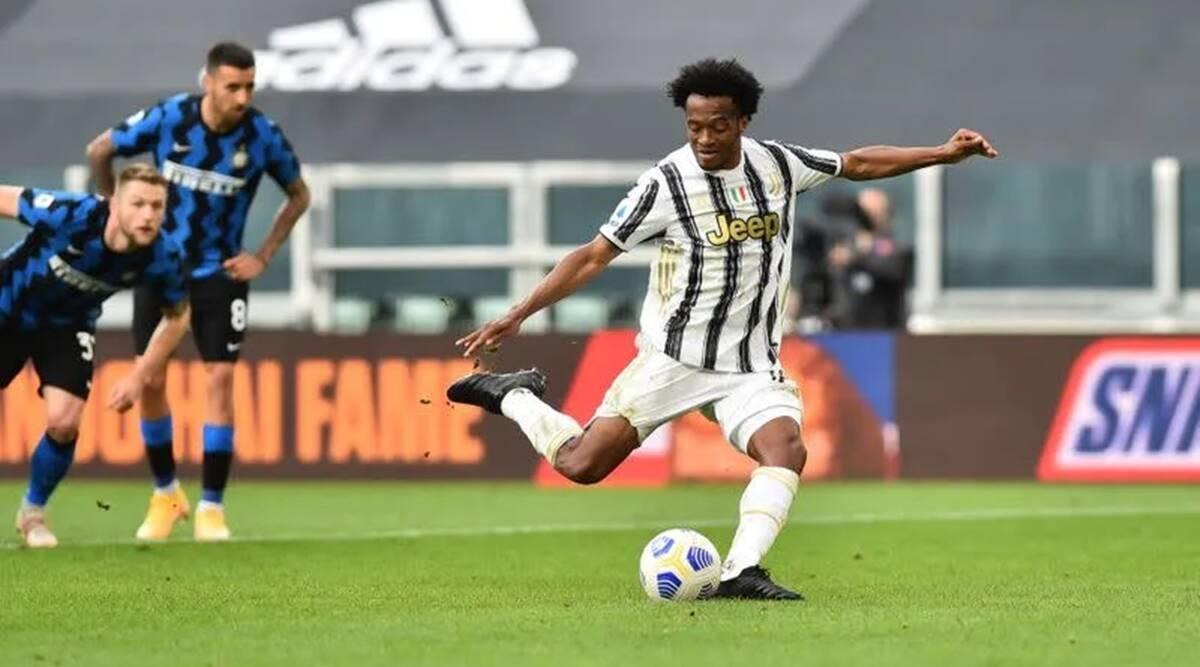 Cuadrado cũng đóng góp lớn vào trận thắng của Juve với cú đúp. (Ảnh: Getty).