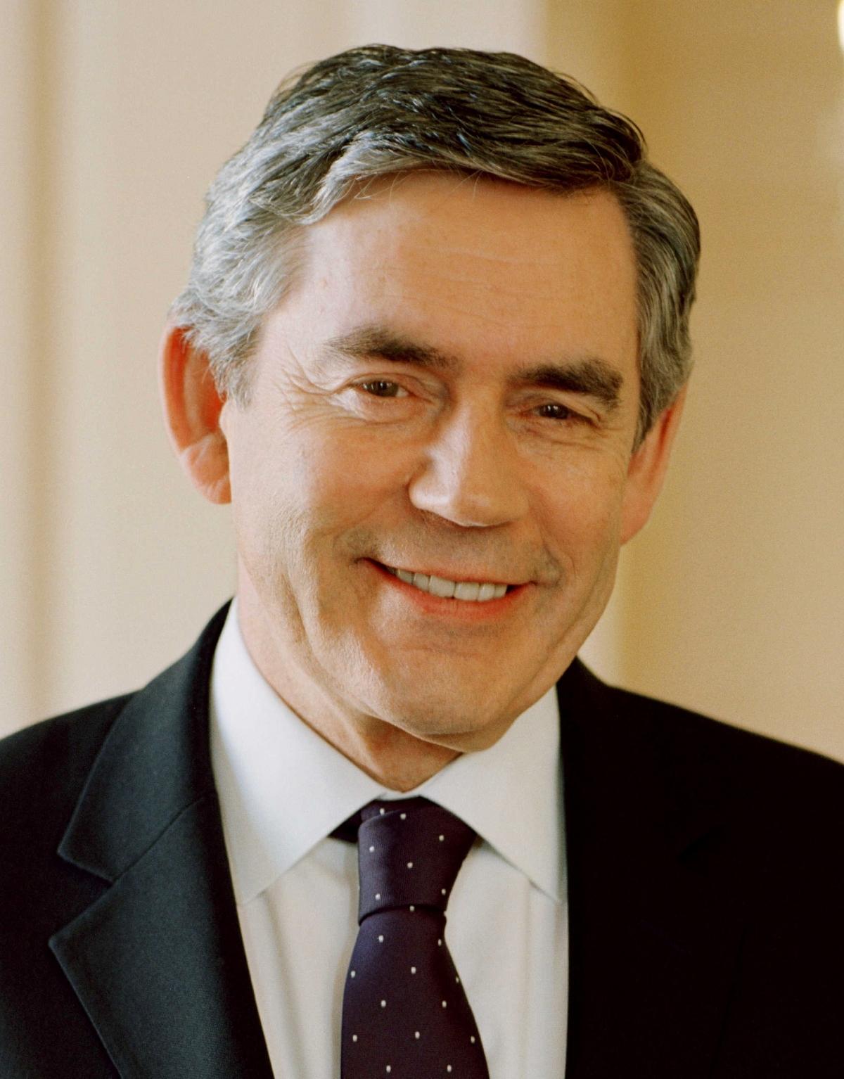 Cựu Thủ tướng Anh Gordon Brown. Ảnh: Wikipedia.