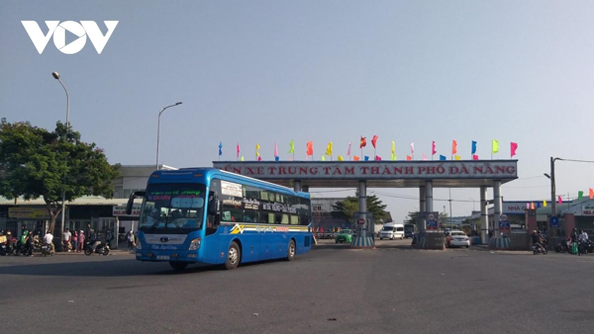 Các hoạt động vận tải đi và đến Đà Nẵng diễn ra bình thường.