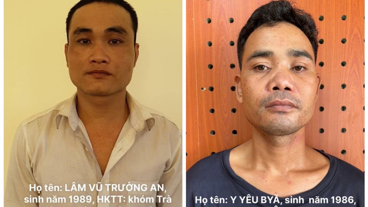 2 nghi phạm đang bị công an tạm giữ