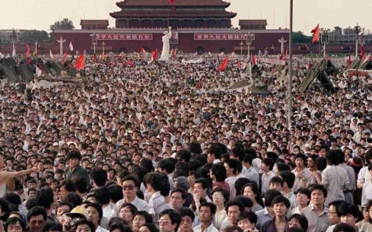Dân Trung Quốc (thời chưa có Covid-19). Ảnh: FirstPost.
