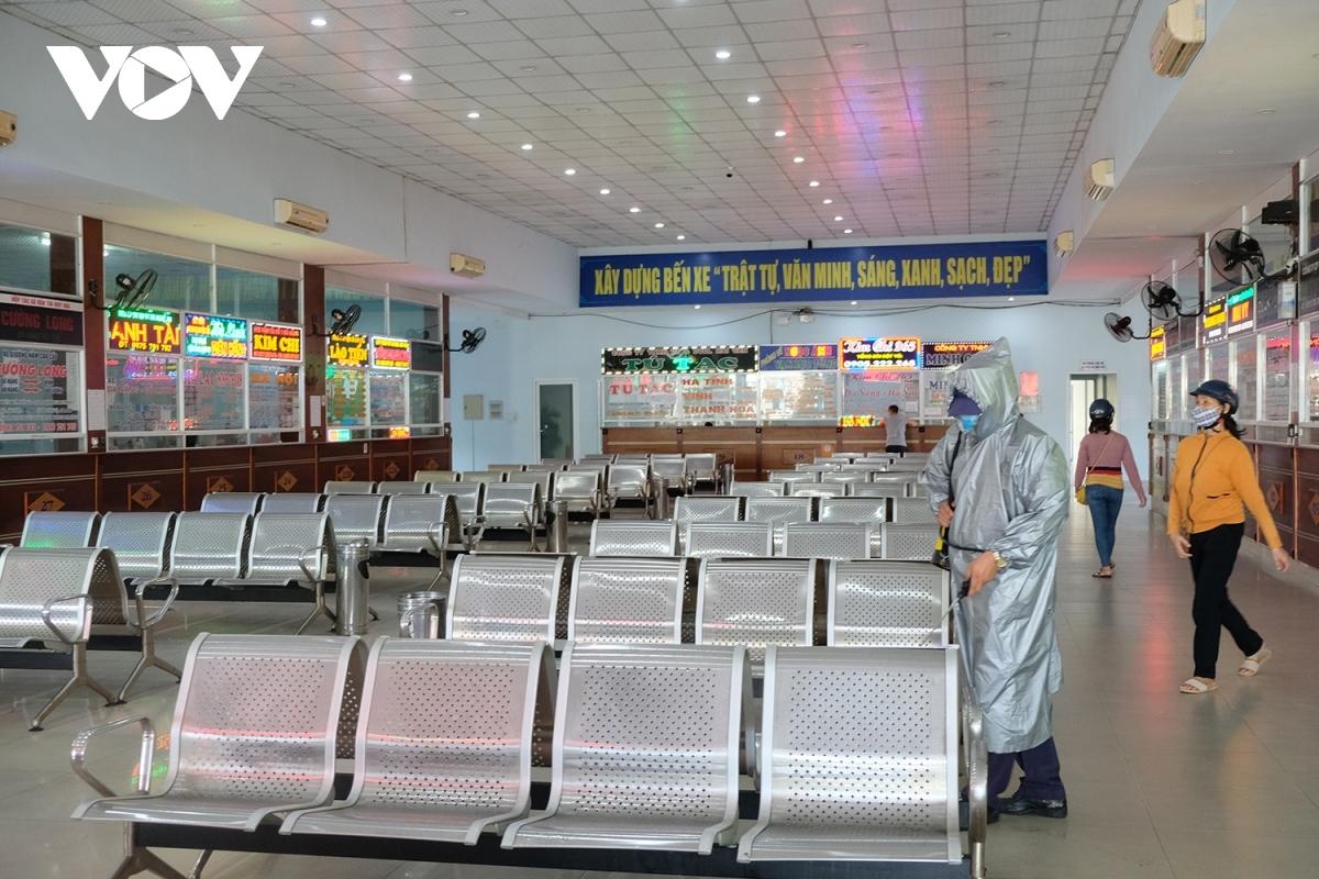 Nhà chờ Bến xe trung tâm TP Đà Nẵng