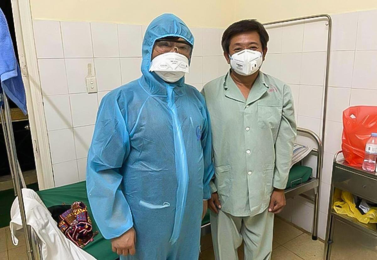 Ông Đoàn Ngọc Hải có xét nghiệm âm tính lần 1 với virus SARS-CoV-2.