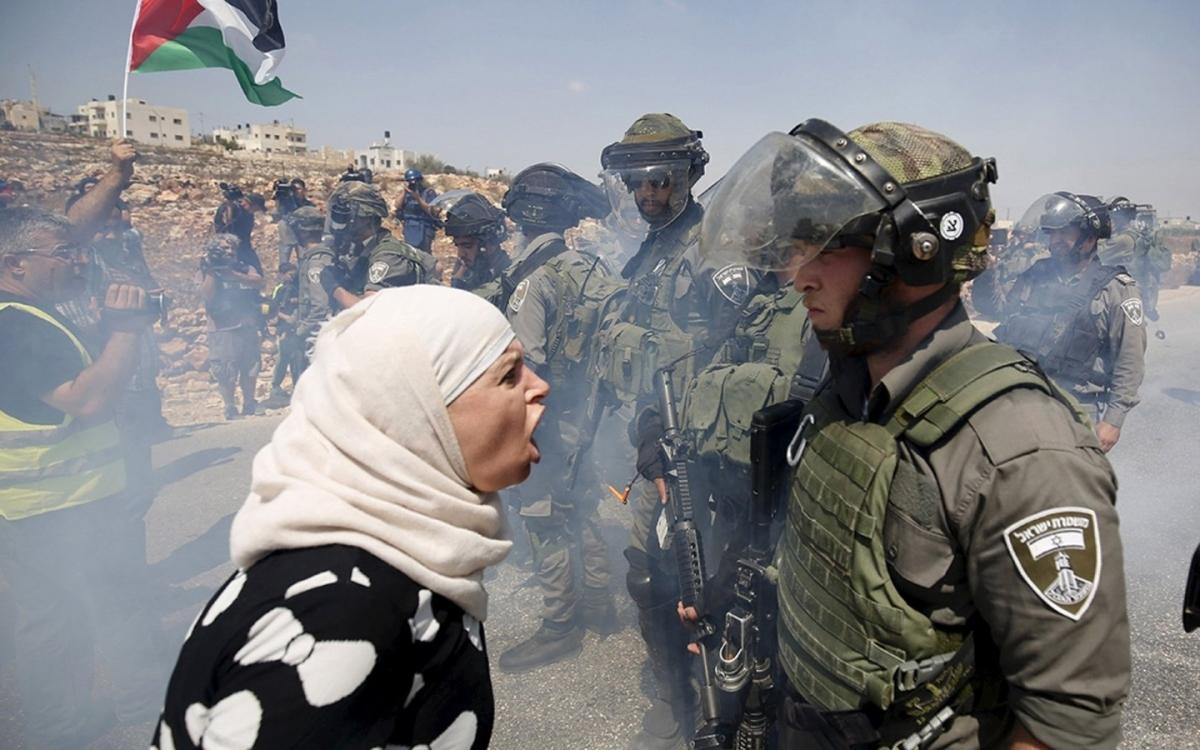 Đối đầu Palestiine-Israel. Ảnh: CFR.