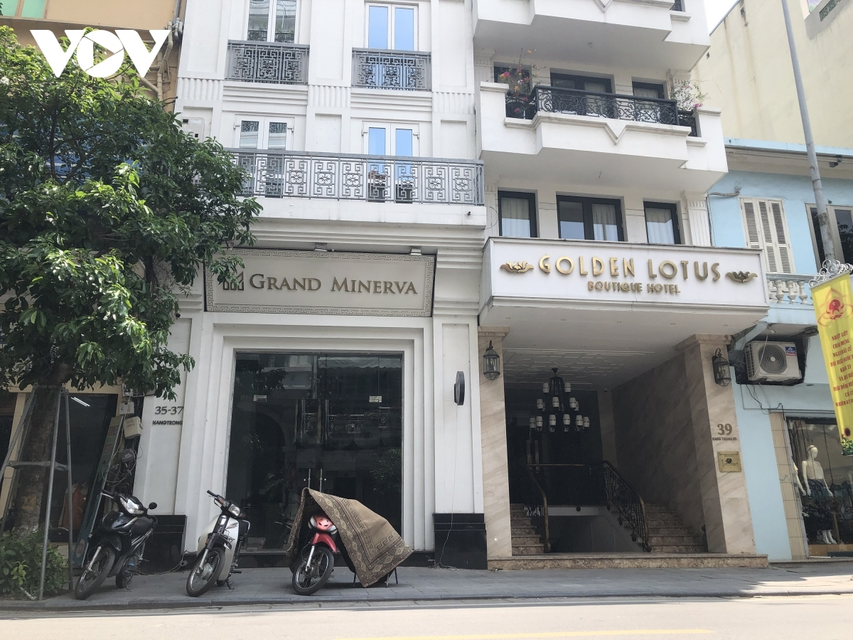 Many hotels in Hanoi have closed due to COVID-19 pandemic