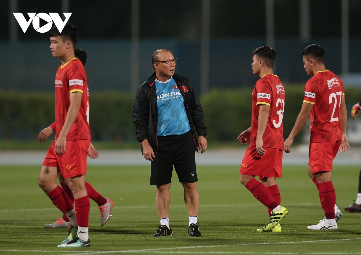 Each footballer is given plenty of attention from head coach Park Hang-seo who is aiming for the team to have the perfect preparation for the World Cup qualifiers. The national team are scheduled to play Indonesia on June 7, Malaysia on June 11, before facing hosts the UAE on June 15 as part of the remaining fixtures in Group G of the Asian region's World Cup qualifiers.