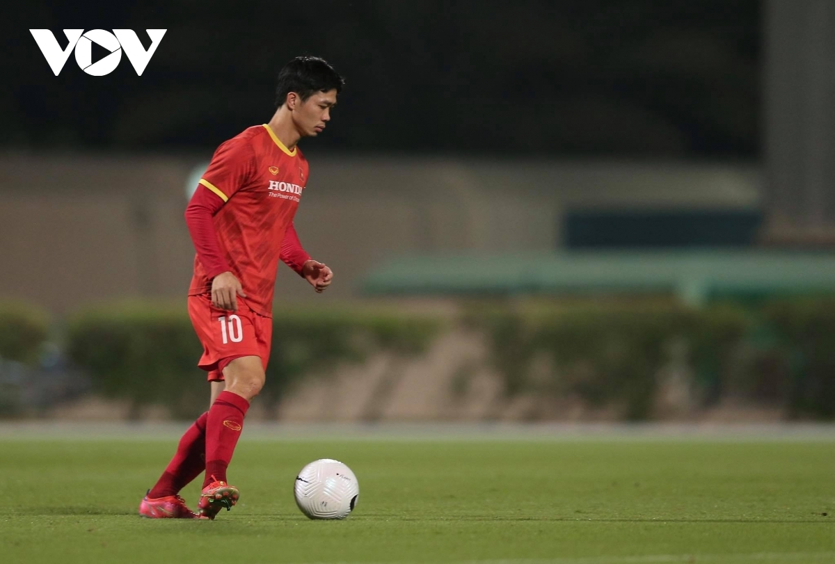 Key player Cong Phuong appears to be on top form.