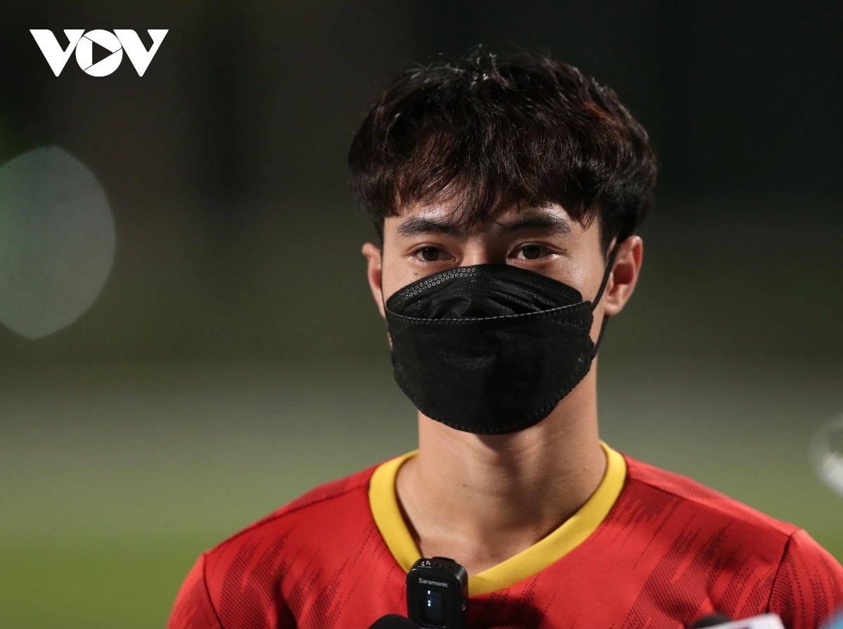 In a recent interview held with the media, striker Van Toan confirms the Vietnamese team are highly determined to secure a place in the third round of qualifying matches in the Asian region for the 2022 FIFA World Cup.