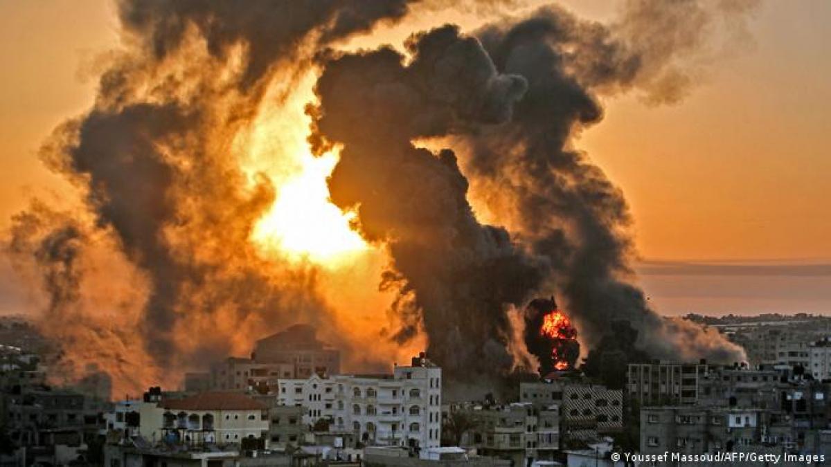 Gaza bị Israel tấn công trả đũa. Ảnh: AFP.