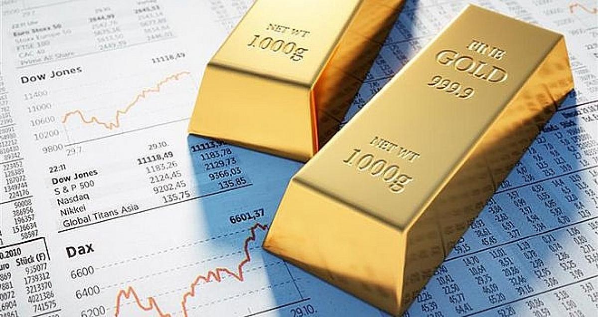 Giá vàng thế giới tăng nhẹ. (Ảnh: KT)