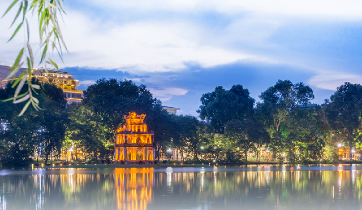 Hoan Kiem Lake- one of the most attractive destinations in Hanoi