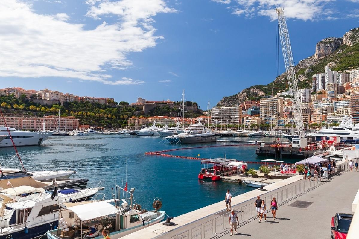 """Cảng Hercules được ví như """"trái tim"""" của Monaco"""