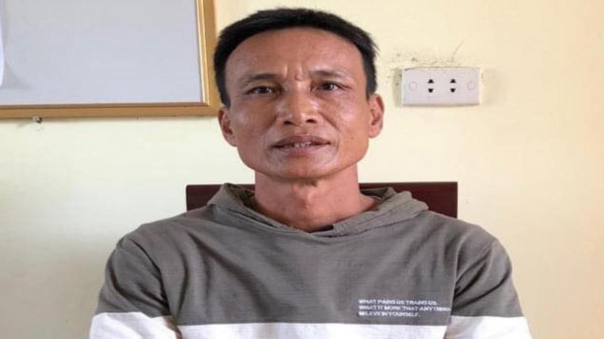 Trần Văn Thiêm tại cơ quan điều tra.