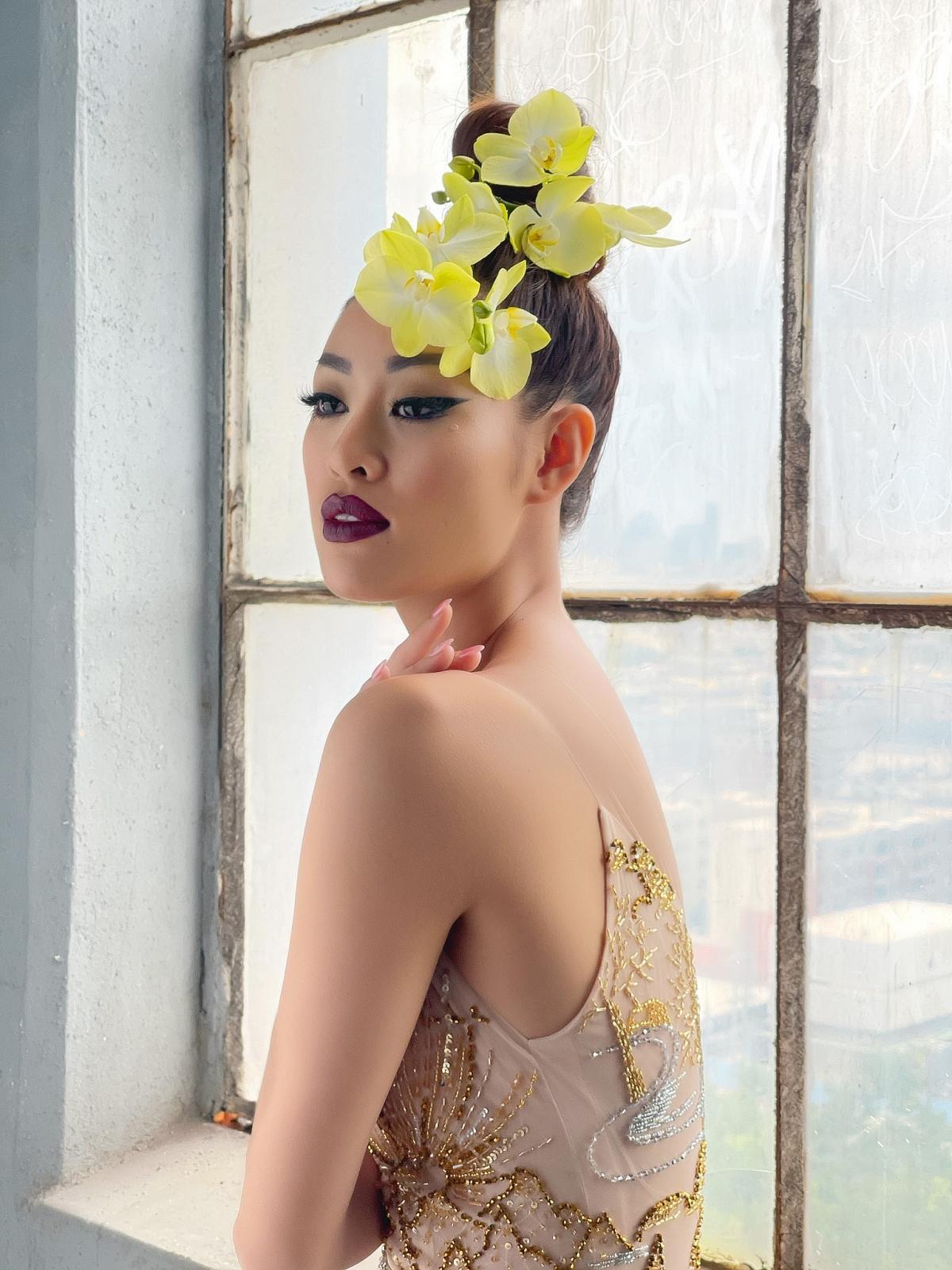 """Bộ ảnh chính thức """"Tôn vinh vẻ đẹp Á châu"""" sẽ sớm được công bố với khán giả trong thời gian tới. Hiện, Khánh Vân vẫn tiếp tục với các kế hoạch tại Mỹ trước khi trở về Việt Nam./."""