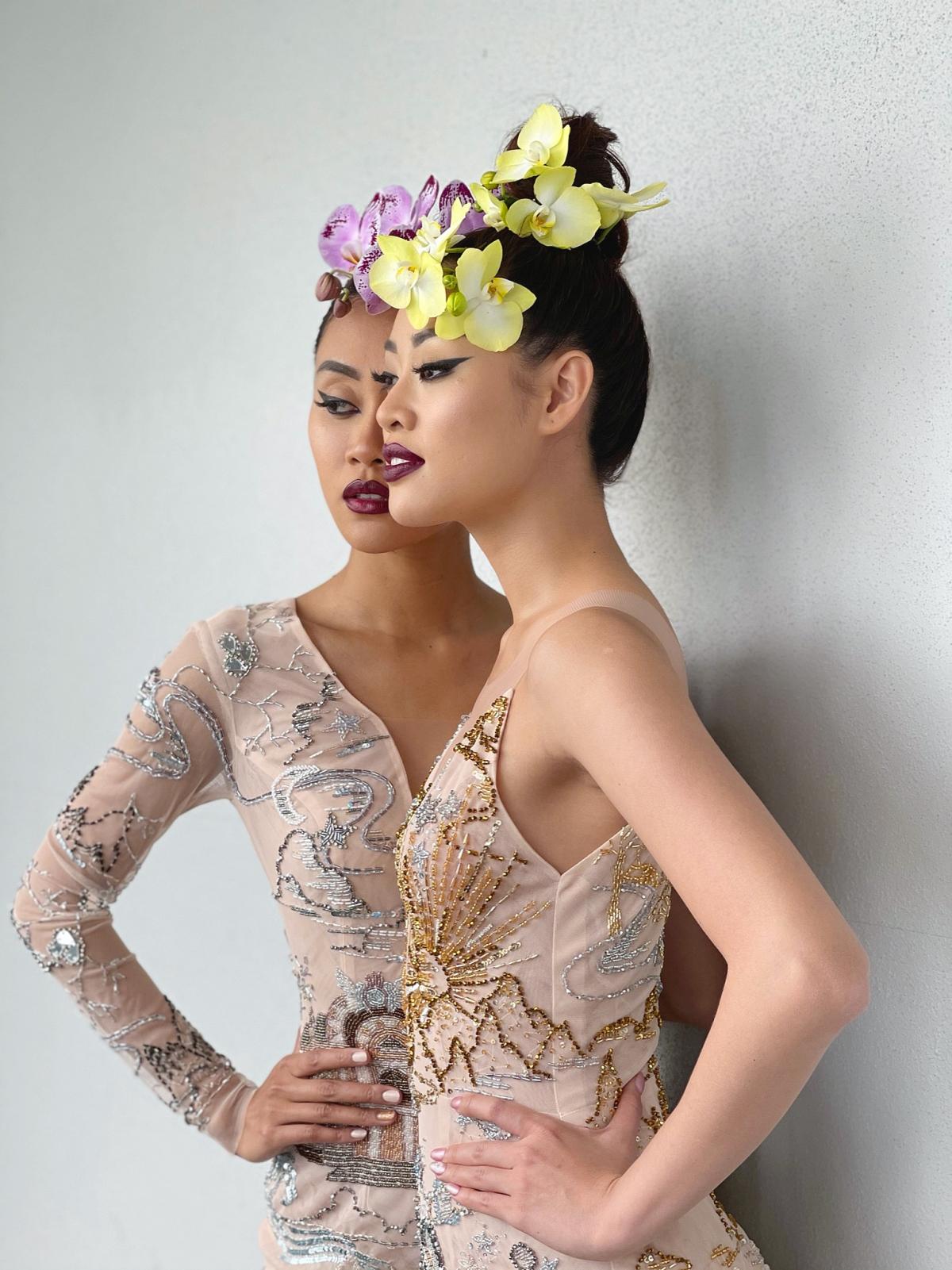 Người đẹp Francisca Luhong James cũng có công việc tại New York nên cả hai đã sắp xếp thời gian để thực hiện bộ ảnh chung với nhau, cũng như lưu giữ lại kỷ niệm về tình bạn Miss Universe.