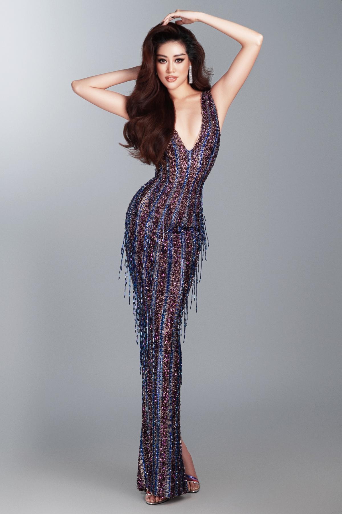 Mỗi lần Hoa hậu Khánh Vân xuất hiện luôn nhận được sự cổ vũ, ủng hộ từ khán giả quốc tế có mặt tại địa điểm diễn ra cuộc thi, cho thấy sức hút của đại diện Việt Nam không hề thua kém các đại diện khác.