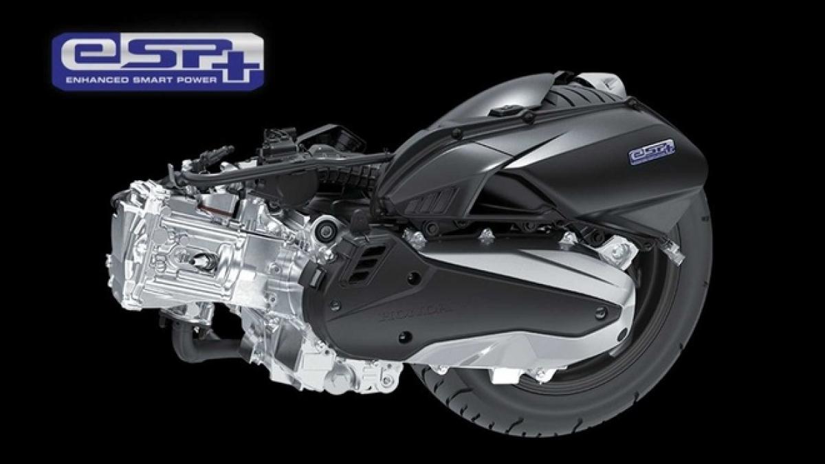 Động cơ trên Vario 160 cho công suất mạnh hơn đời cũ và đạt chuẩn khí thải Euro5. Ảnh:Ride Apart.