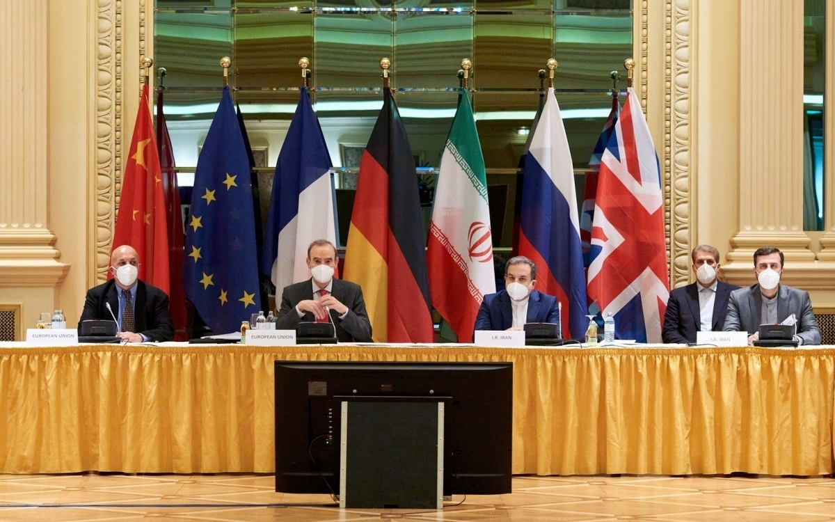 Đàm phán tại Vienna. Ảnh: BBC.