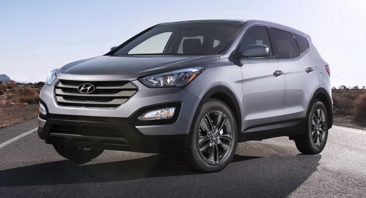 Triệu hồi Hyundai Santa Fe Sport sản xuất từ năm 2013 đến năm 2015.