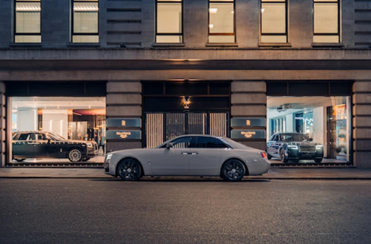 Flagship store mới củaRolls-Royceở trung tâm Mayfair của London (Anh)