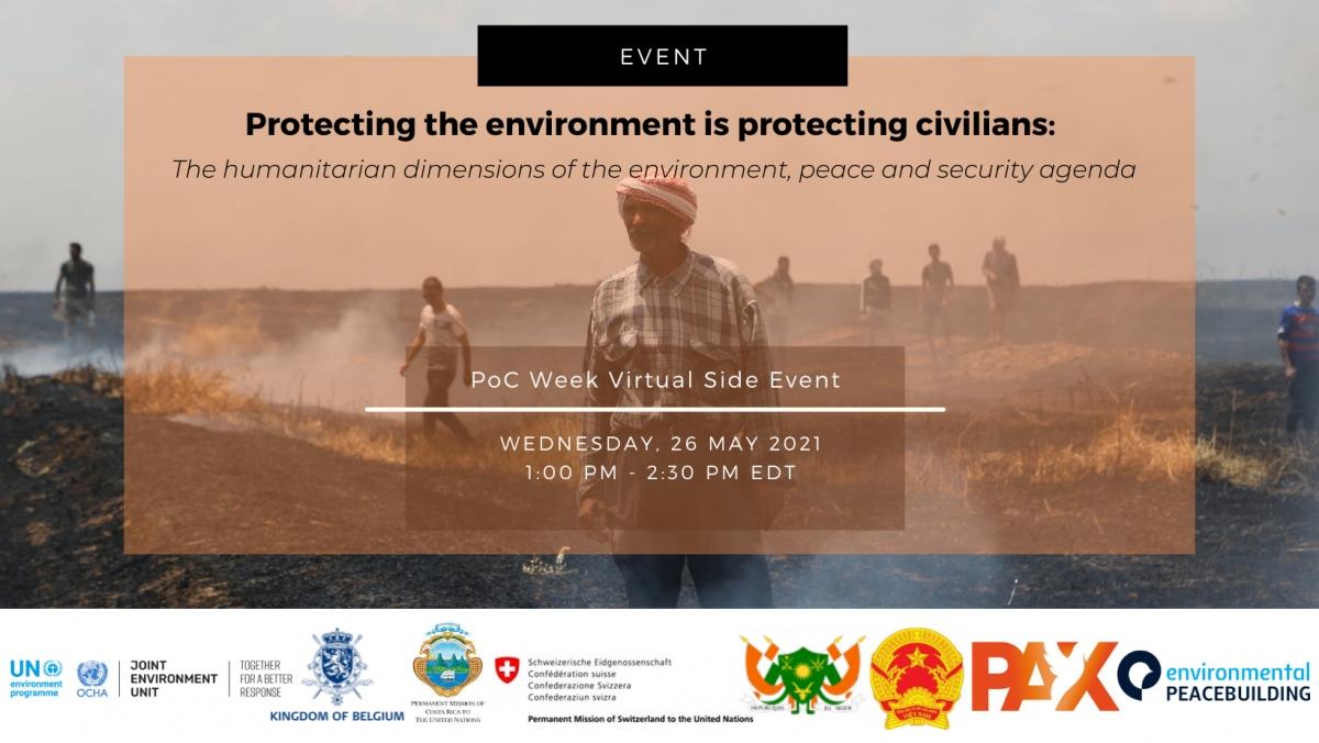 Thảo luận về Bảo vệ môi trường, xung đột vũ trang.